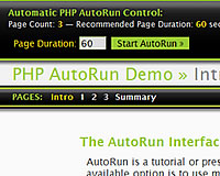 PHP AutoRun