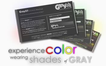Experience Color Wearing Shades of Gray