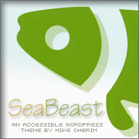 SeaBeast - An Accessible WordPress Theme by Mike Cherim